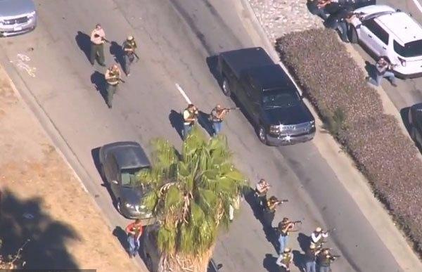 مقتل 14 شخصا على الأقل في حادث إطلاق للنار بولاية كاليفورنيا