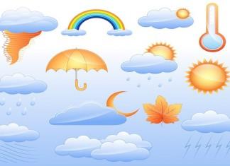 أحوال الطقس لنهار اليوم