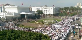 الأساتذة المتدربون متمسكون بحقهم في الاحتجاج ضد المرسومين وبمسيرتهم الوطنية الثالثة بالرباط