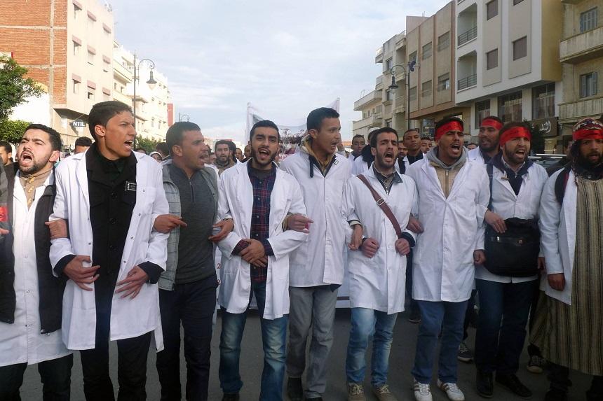 الأساتذة المرسبون: وزارة الداخلية رسبتنا لقتل روح النضال الذي أحيته تنسيقية الأساتذة المتدربين