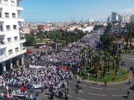 الأساتذة المتدربون ينزلون إلى الشارع من جديد يوم 2 غشت المقبل