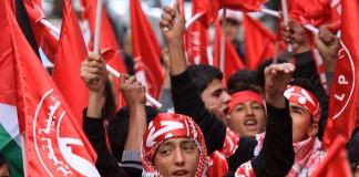 الجبهة الشعبية تستنكر هرولة بعض المغاربة نحو التطبيع وتصفهم بالرجعيين والخونة