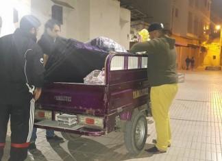 أزيد من 1200 شخص استفادوا من عمليات توفير الإيواء والتغذية والتطبيب