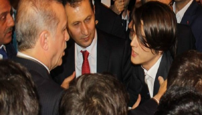 شاب يسأل «أردوغان» أن يطلب له يد الفتاة التي يحبها من أهلها