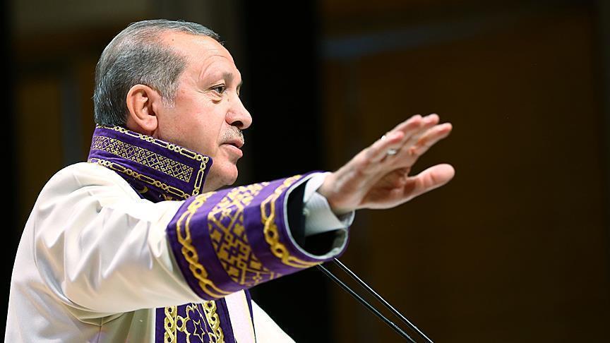 أردوغان: عازمون على بناء أجيال تعرف دينها وثقافتها وتاريخها