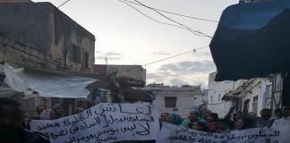احتجاجات لليوم الثاني للمطالبة بإطلاق سراح نبيل الموساوي الذي صار حديث السلويين
