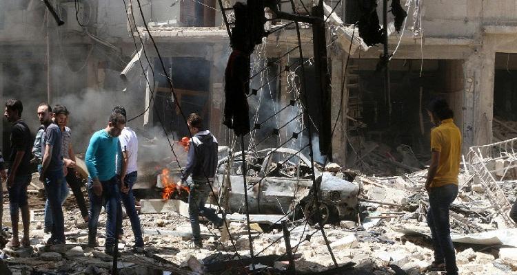 رابطة علماء المغرب العربي: بيان بخصوص جرائم عصابات الأسد في مدينة حلب