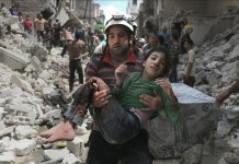 إمعانا في القتل السوري الروسي والإبادة لأهل حلب.. تدمير كل المستشفيات