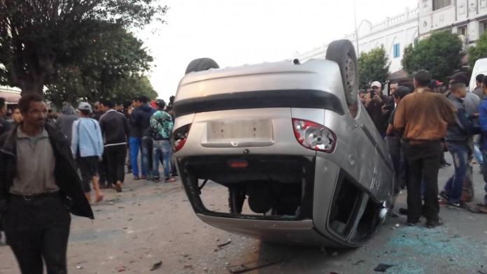 حوادثمصرع شابين في حادثة سير مروعة بمدينة خريبكة السير تحصد 12 قتيلا بمدن المغرب