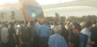 عاجل وبالصور.. وفاة مواطن بسبب تأخر القطار في الدار البيضاء