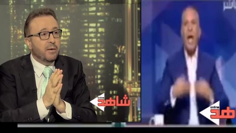 """إعلامي مصري: """"ما حدث في تركيا ثورة وليس انقلابا"""" ..والقاسم يرد عليه ويمسح به الأرض"""