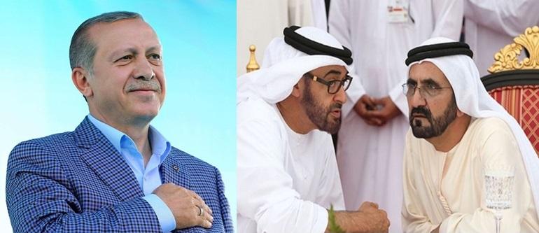 الإمارات خائفة بشدة من بطش أردوغان بها لتورطها بانقلاب تركيا الفاشل