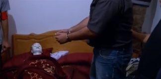 فيديو.. إعادة تمثيل جريمة القتل العمد مع تقطيع جثة الضحية بسلا