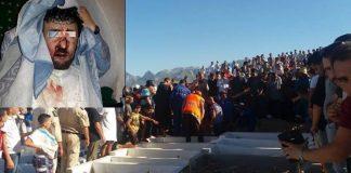 جنازة ضحايا مسجد الأندلس بتطوان تتحول إلى مسيرة تطالب بإعدام القاتل