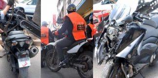 حادثة سير مميتة بين دراجة عنصر أمن ودراجة يركبها صاحب سوابق قضائية