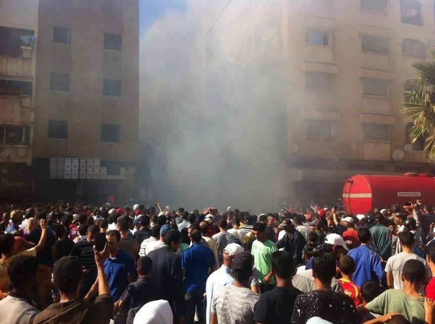 حريق خطير بمحل لبيع «البونج».. واحتراق سيارتان وطابق سكني بسلا