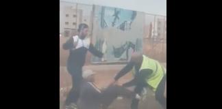 بالفيديو، خطير.. مشرملين يحملان سيوفا ويحاولان الاعتداء على مراقب حافلة بفاس