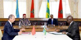 محمد السادس والرئيس الرواندي يترأسان حفل التوقيع على 19 اتفاقية ثنائية