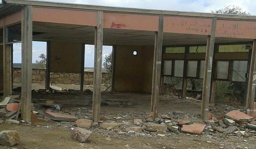 مدرسة أيت وحمان.. هل بهذه الأقسام المخربة سيتقدم التعليم في المغرب؟!