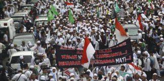 جاكرتا تشهد مظاهرة حاشدة ضد حاكمها