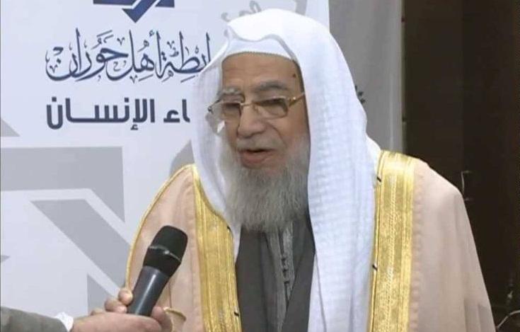 وفاة الشيخ السوري محمد سرور زين العابدين -رحمه الله- اليوم في الدوحة