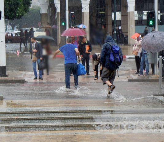 مقاييس الأمطار خلال 24 ساعة الاخيرة أعلى نسبة سجلت في الرباط
