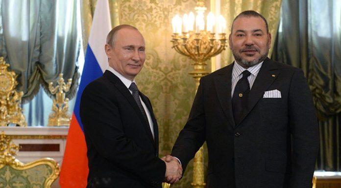 الملك يعزي بوتين في سقوط الطائرة العسكرية