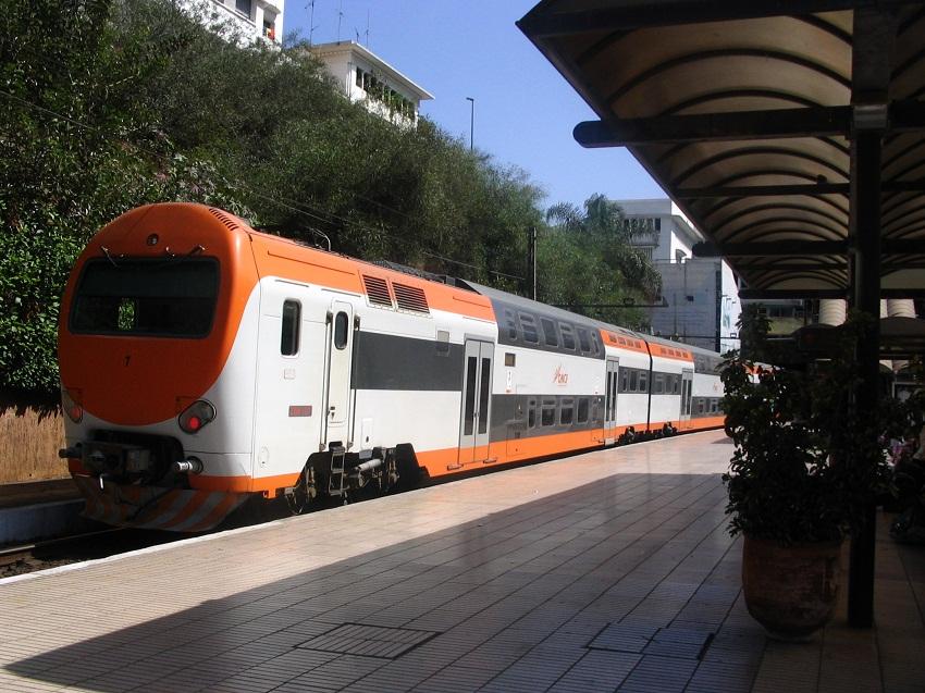 انتحار رجل بإلقاء نفسه أمام القطار داخل محطة المحمدية