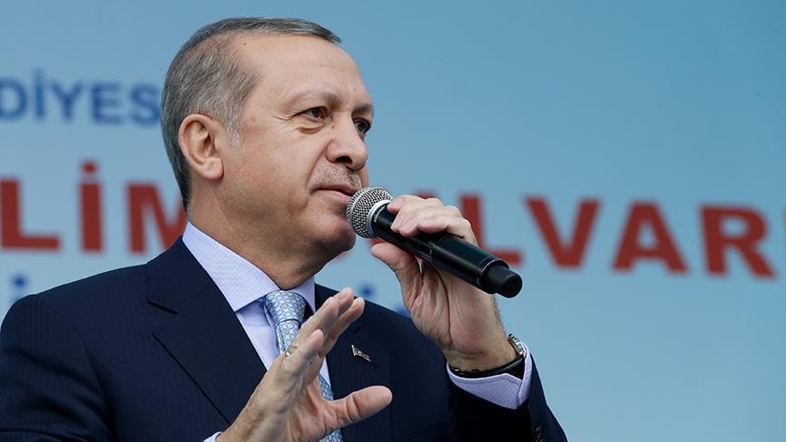 أردوغان: تركيا انتقلت إلى البلدان ذات الدخل المرتفع