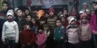 أطفال من داخل حلب المحاصرة يوجهون نداءات استغاثة للعالم إن كان لا يزال فيه أحياء