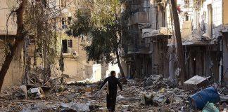 """""""اتحاد علماء المسلمين"""" يدعو العالم لوقف المذابح في حلب فورا"""