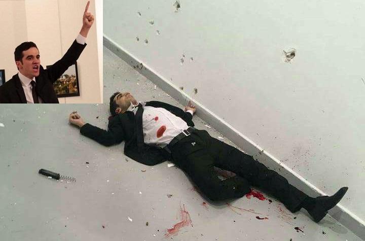 اعتقال مشتبه به جديد في قضية اغتيال السفير الروسي بأنقرة!!