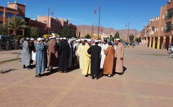 نداء لأئمة مساجد تنغير بعد توقيف الإمام الخطيب لحسن ياسين أمين الرابطة الوطنية لأسرة المساجد