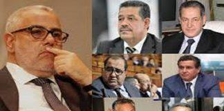 أخنوش والعنصر وساجد ولشكر يفرضون على بنكيران مشاركتهم كلهم