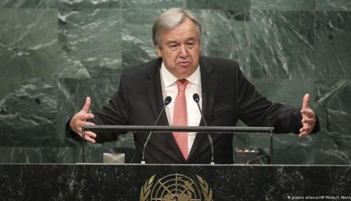 هذا ما قاله الأمين العام للأمم المتحدة الجديد عن سورة