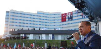 أردوغان يفتتح أول مدينة طبية في تركيا