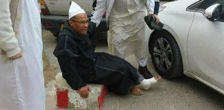 السلطات الأمنية في الجزائر تتسبب في كسر رجل الشيخ علي بلحاج