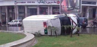 سابقة.. شخص يسرق سيارة الأمن في الدا البيضاء ويفر بها