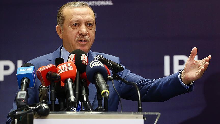 أردوغان لواشنطن: هل تحشدون أسلحتكم في الشمال السوري لاستخدامها ضدنا