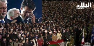د. بلافريج يؤم صلاة الجنازة على ضحايا مسجد كيبيك ويدعو لهم ورئيس وزراء كندا يبكيهم