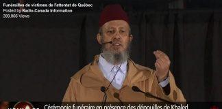 نقل مباشر على التلفزيون الكندي لكلمة د. بلافريج أمام رئيس الوزراء الكندي