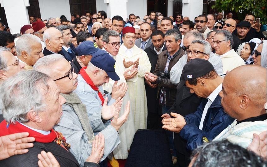 مدينة مراكش تودع أحد أبنائها البررة الفقيد المناضل امحمد بوستة