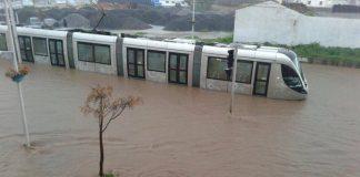 بلاغ جماعة سلا عن فيضانات الأمطار الغزيرة ومعالجتها لما خلفته من أضرار