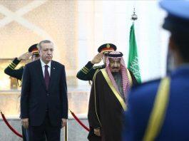 أردوغان يزور السعودية والكويت وقطر
