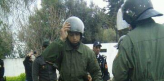 أستاذة متدربة تخسر جنينها بعد تعرضها للتعنيف يوم 3 مارس من طرف قوات الأمن