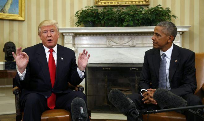 أوباما: ترامب يعتمد على إثارة الخوف والفرقة في سياساته