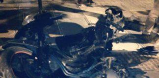بني ملال.. حادثة سير خطيرة بين سيارة خفيفة ودراجة نارية من الحجم الكبير