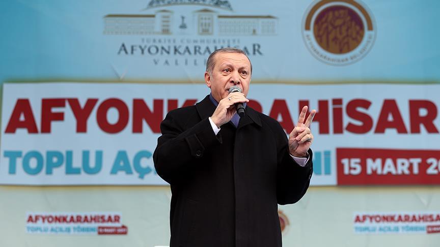 أردوغان: روح الفاشية متفشية في شوارع أوروبا