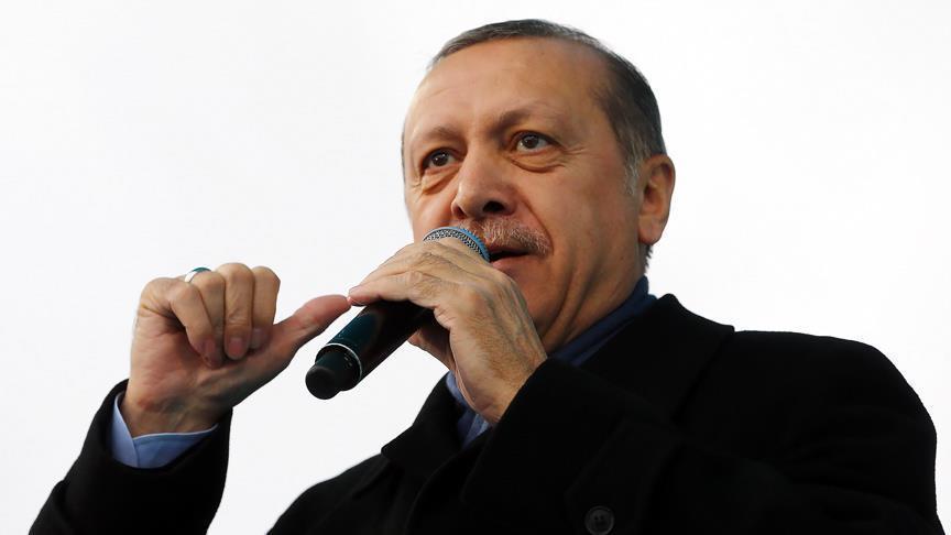 أردوغان يتهم المعارضة بالسعي لتشكيل تحالف يهدف إلى معاداته شخصيا
