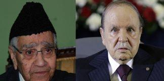 الرئيس الجزائري بوتفليقة يعزي في وفاة بوستة -رحمه الله-